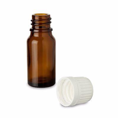 10x Braunglasflsche mit Originalitäts-Verschluss ☆ Medizinflasche ☆ Glasbehälter 2