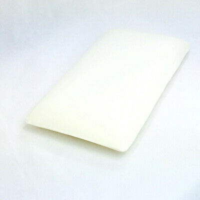 New Bamboo Memory Foam Cot Pillow Anti Bacterial With Organic Bamboo Cover 3