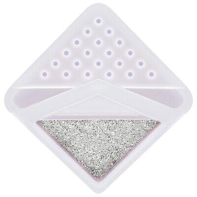 "UltraFine Craft Glitter Shaker Hemway -Candle Wax Melts Glass 1/128"" .008"" 0.2MM 4"
