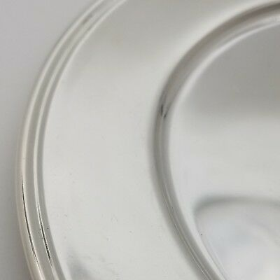 Tiffany & Co. Makers Sterling Silver ~6.5' In* Cookie Saucer Bread Charger Plate 3