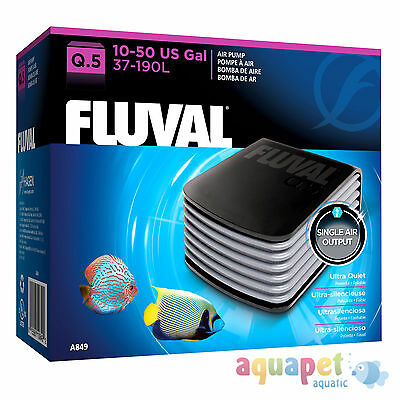 Fluval Q.5 Air Pump - Quiet, Powerful Aquarium Pump