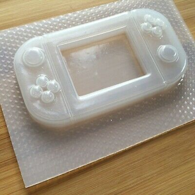 Handheld Game Console Plastic Mold Resin Molds Shaker Gamer UV resin mould 3