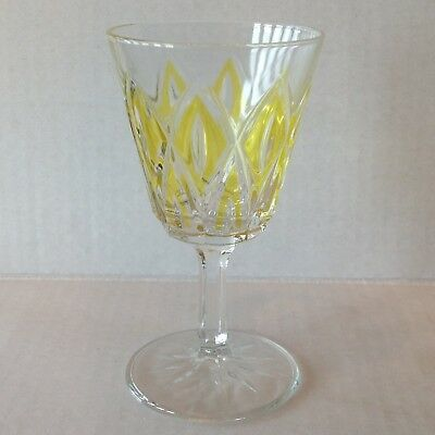 Vintage Stemware Cordial Glass Diamond coloured EACH SOLD SEPARATELY 7
