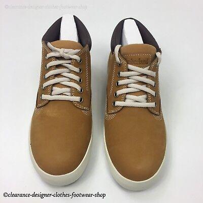 TIMBERLAND DAUSETTE LOW Chukka Womens Trainers Nubuck Wheat Shoes Rrp £95