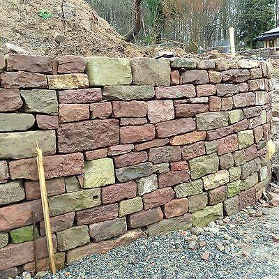 1sthangbefestigung Mauer Stein Natursteinmauer Sandstein