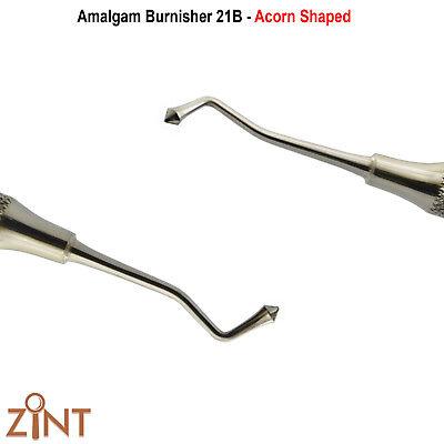 Restorative Burnisher 21B Dental Amalgam Filling Acorn Shape Westcott Lab Tools