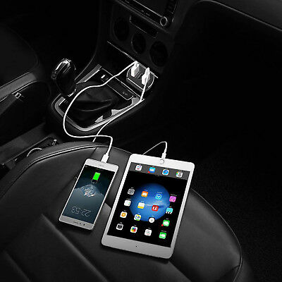 USB C CAR CHARGER, Flush Fit 8.4A Output Quick Charge 3.0