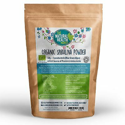 Organic Spirulina Powder high In Protein Cleanse & Detox Energy Immunity Booster 4