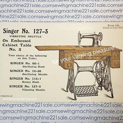 singer sewing machine treadle belt & maintenance kit 4