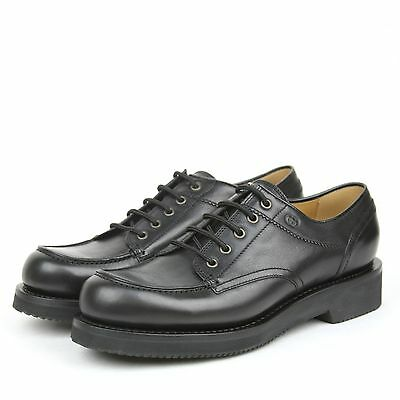 b6469b11764 ...  695 New Gucci Mens Leather Lace Up Oxford Shoes w Platform Black  352954 1000 2