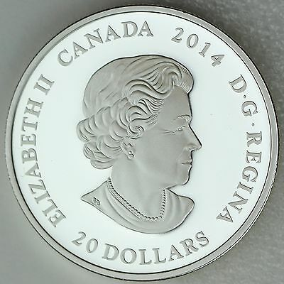 Canada 2014 $20 Stained Glass: Casa Loma, 1 oz. Pure Silver Coin, #2 in Series 3