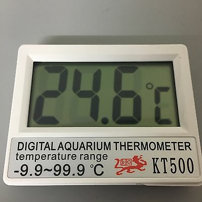 Digital Aquarium Temperature Gauge Fish Tank Thermometer-9.9℃~99.9℃ UK SELLER