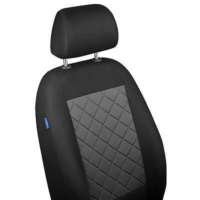 Schwarze Sitzbezüge für SEAT LEON Autositzbezug VORNE