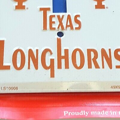 Single Light Switch Plate Covers Texas Longhorns Themed Collegiate Products 10
