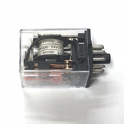 MK3P-I MK3P DC 12V DC Relay 11 Pin 10A 250VAC 250V /& PF113A Socket Base