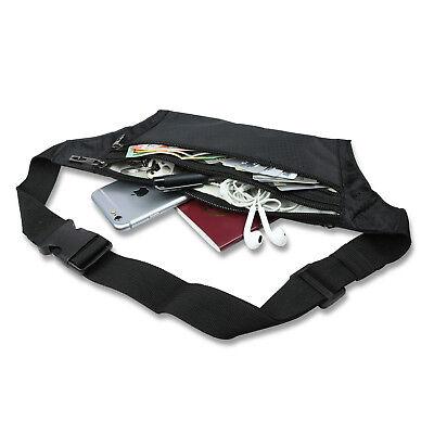 Waterproof Running Hiking Sport Bum Bag Travel Money Phone Waist Belt Zip Pouch 3