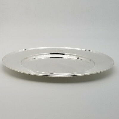 Tiffany & Co. Makers Sterling Silver ~6.5' In* Cookie Saucer Bread Charger Plate 6