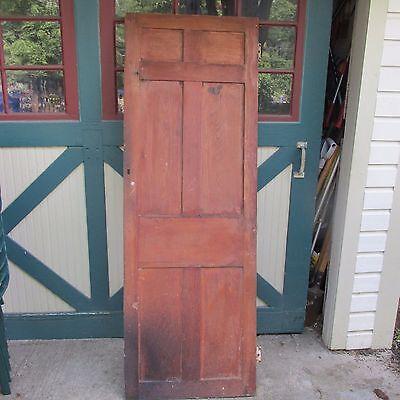 Antique Hand Made Wooden Cross & Book Door, Bennington Knob,Through Tenon,1840's 9