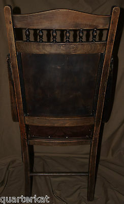 Antique Antiques Chairs Victorian Original Wood Wooden Chair Home Furniture 12