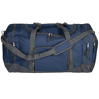 c253df7e4d0b6 ... Sporttasche Tasche Reisetasche Reisekoffer Trainigstasche 90l  70x35x35cm Blau 4