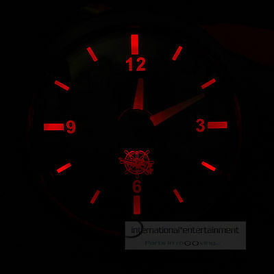 QUARZUHR UHR  CLOCK  AUTO + MARINE  12+ 24V  Frontring schwarz dreikant