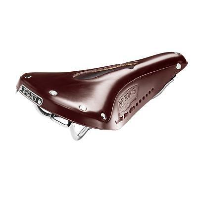 Brooks B17 Herren Sattel Standard Rot Bar Tape Lenker Band Griffe Set Kombo