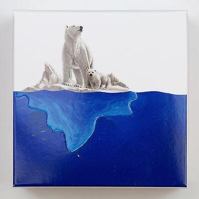 2016 $20 Masters Club Coin #3 – 99.99% Pure Silver Polar Bear with Blue Enamel 11