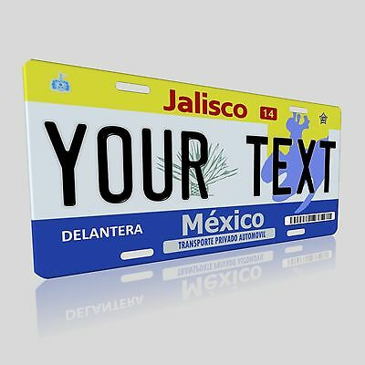 Jalisco Mexico Novelty Auto License Plate Tag Aluminum with Baked on Finish NEW!