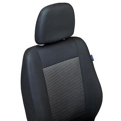 Schwarz-graue Dreiecke Classic Sitzbezüge für  TOYOTA YARIS Autositzbezug Set