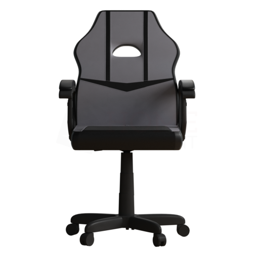 Racing Gaming Office Chair Executive Swivel Leather Computer Desk Grey Black 9