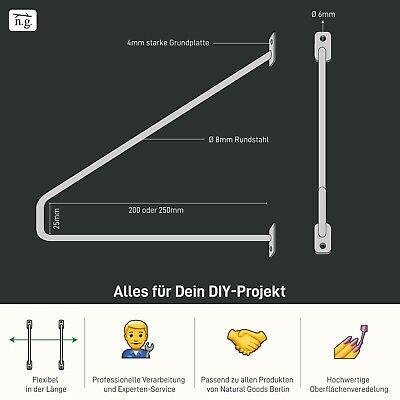 DIY RegalhalterRegalwinkel Regalsystem Regalhalterung Regalträger Design