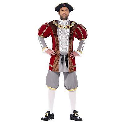 Da Uomo Adulto Lusso Re Enrico VIII 8° Storico Tudor Costume 4