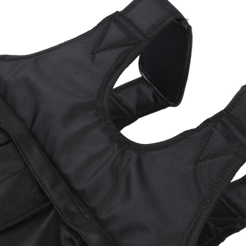 50KG Adjustable Weighted Vest Loss Training Running Jacket Waistcoat