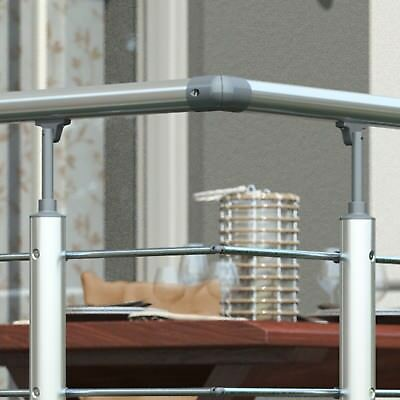 Aluminium Gelander 150 Cm Handlauf Brustung Balkongelander