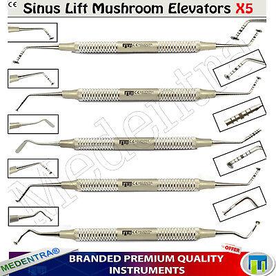 Sinus Lift Kit MUSHROOM Implant Elevators Implantology Advanced New Save £ 85 2