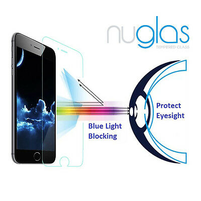 2x NUGLAS Tempered Glass Screen Protector for Apple iPhone X 8 7 6 5 Plus XS Max 4