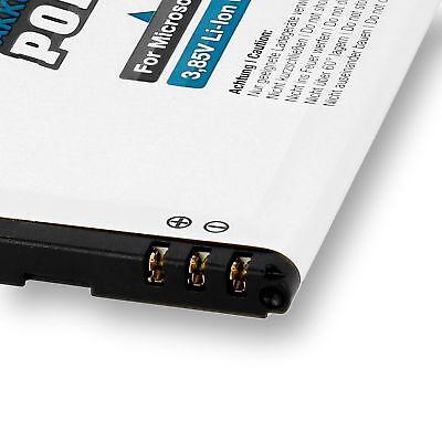 PolarCell Akku für Microsoft Lumia 950 Dual Sim BV-T5E Batterie Accu Nokia 6