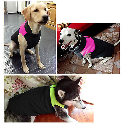 Large Dog Jacket Padded Waterproof Pet Clothes Warm Windbreaker Vest Coat Winter 3