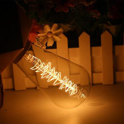 E27 40w Vintage Led Edison Ampoule Filament Clair Décoration de Maison 6
