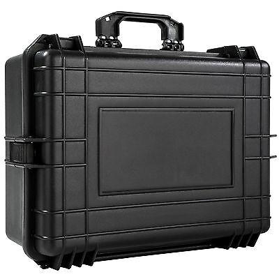 Valise photo caméra transport accessoire protection armes photographie noir 4