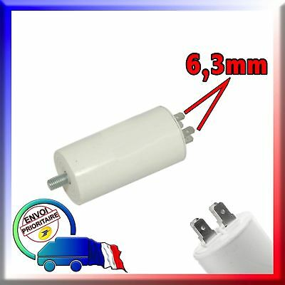Condensateur de démarrage moteur de 1μF à 80μF Assurance Expédition suivie