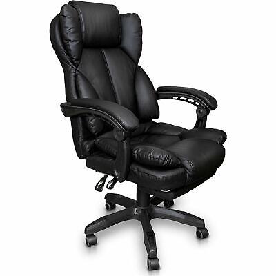 Schreibtischstuhl Bürostuhl Gamingstuhl Racing Chair Chefsessel mit Fußstütze 2