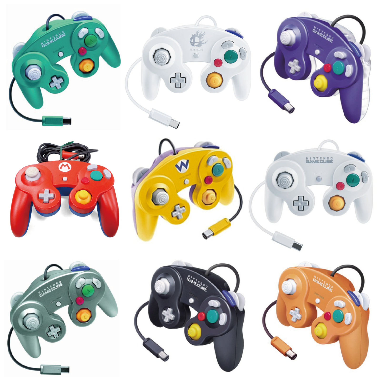 【30 variations】Nintendo Official GameCube controller Various colors 2