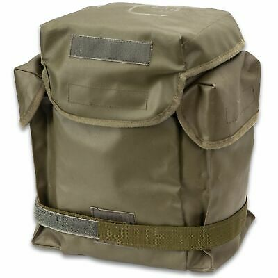 Authentic Military Polish Army Butt Pack Gas Mask Bag Tool Camera Sack OD Green 4