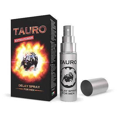 Ritardante Eiaculazione Spray Tauro Uomo Naturale Extra Forte 5 Ml 3