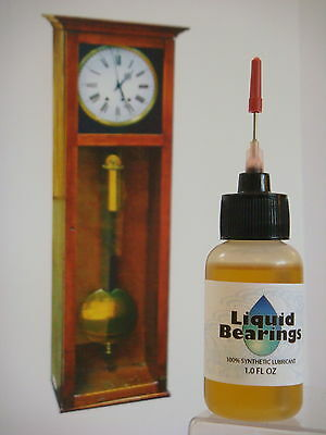 Liquid Bearings, ULTIMATE 100%-synthetic grandfather clock oil, PLEASE READ!! 2