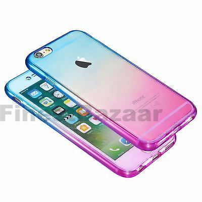 Hybrid 360° New Shockproof Case TPU Gel Skin Cover For Apple iPhone 8 7 5s 6s SE 11