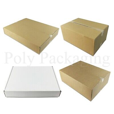 Maximum Size ROYAL MAIL SMALL PARCEL Cardboard Postal Boxes For Posting/Postage 3