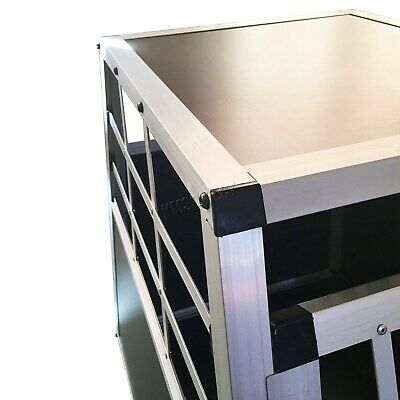FoxHunter Aluminium Dog Pet Puppy Cage Kennel Travel Transport Crate Carrier BOX 6