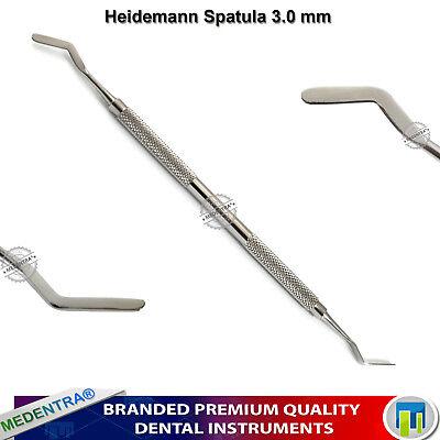 Deal of 3 Heidemann Spatulas for Composite Placement /Contouring Plastic Filling